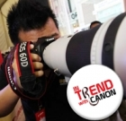 Get IN TREND with Canon and WIN!