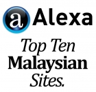 Alexa – Top Ten Malaysian Sites