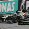 Wet F1 Race at Malaysian Grand Prix 2012 [Photos]