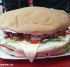 Oversized Burger at Zul's Burger, Penang