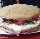 Oversized Burger at Zul's Burger, Penang