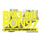 RON97 Silently Increased by 30 cents to RM3.00