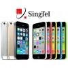 Singtel Announces iPhone 5S and 5C Price Plans