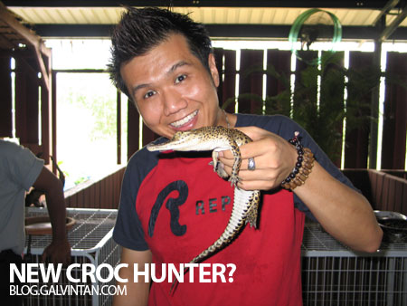 New Croc Hunter?