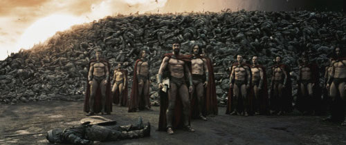 leonidas and the brave 300 Dilios: give thanks, men, to leonidas and the brave 300 to victory [the greek army roars and charges.
