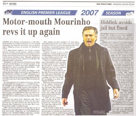Chelsea's Jose, Bo Ho Seh « decoding galvin