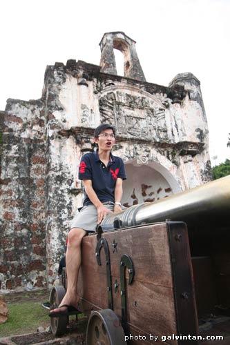 Melaka fort A'Farmosa