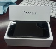 iPhone 5 in the box
