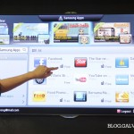 Broad range of Samsung Apps for SMART TV.