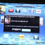 Face Recognition allows you to login to your SMART TV without any password.