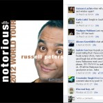Russell Peters Facebook Page