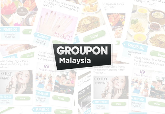Groupon newsletter subscription