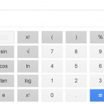 Google Virtual Calculator