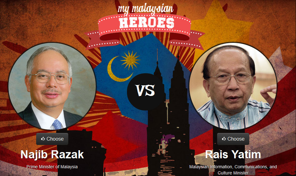 Najib Razak vs Rais Yatim