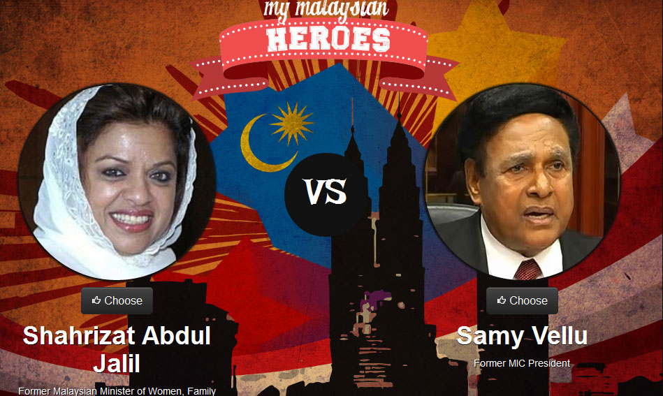 Sharizat vs Samy Vellu