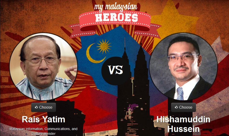 Rais vs Hishamuddin