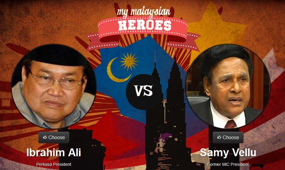 Ibrahim Ali vs Samy Vellu