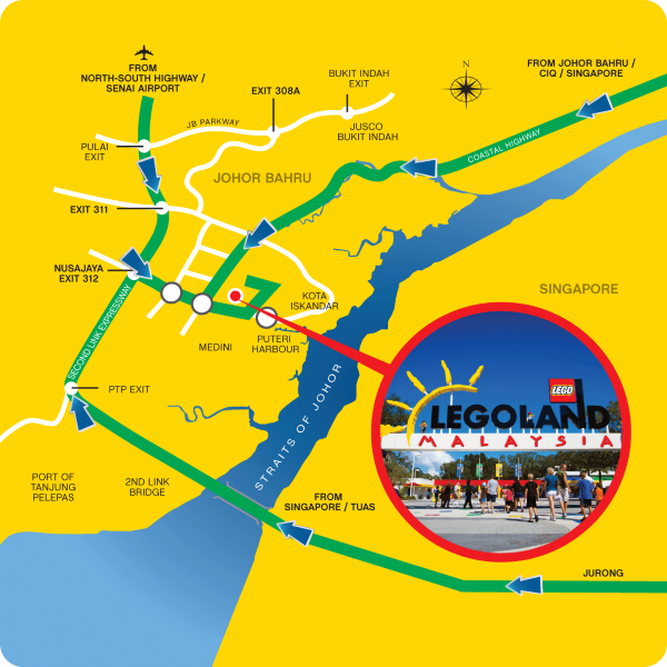 LEGOLAND Malaysia - Location Map - decoding galvindecoding galvin