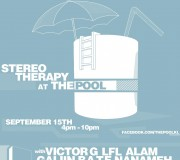 Stereo Therapy @ The Pool
