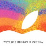 Apple Media Invite - 23 October 2012