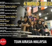 Team AirAsia-Malaysia at 2012 Fireball World Championship Series