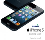 Maxis iPhone 5 Pre-registration