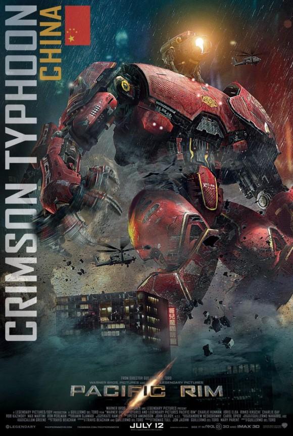 Crimson Typhoon Poster