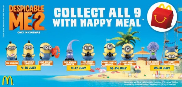 McDonald's Minions - Happy Meal