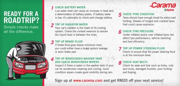 Carama 8-steps Guide