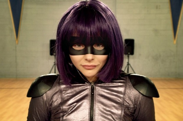 Chloë Grace Moretz as Hit Girl