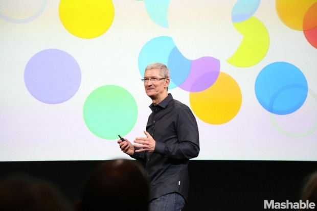 Tim Cook at the Apple Event