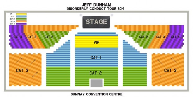 Jeff Dunham Live in Malaysia - Ticket and Category Info