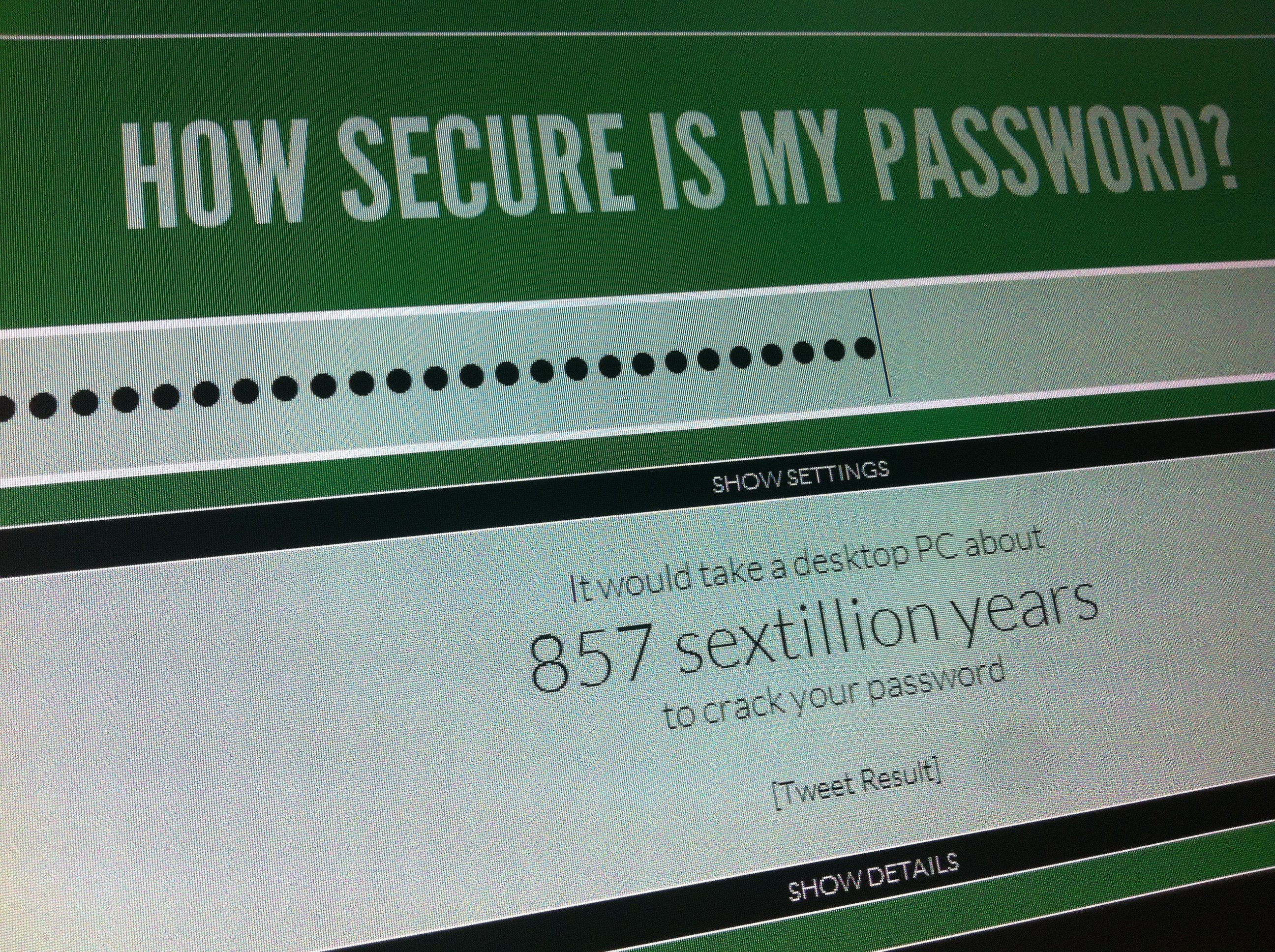 How Secure Is Your Password? - decoding galvindecoding galvin