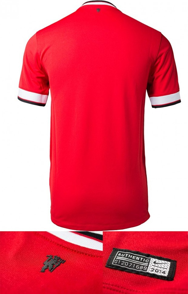 Manchester United Home Kit 2014/2015