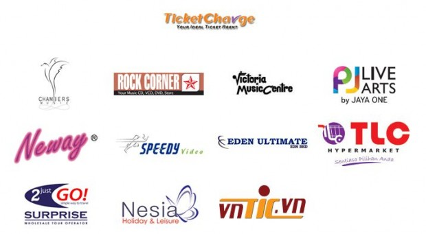 Ticket Charge Ticket Outlets