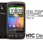Review : Apps, Widgets & Multimedia On HTC Desire (Part 4)