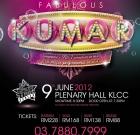 The Fabulous Kumar – Live in Kuala Lumpur (Ticket Info)