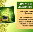 Save Your Celebration with WD