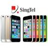 Singtel Announces iPhone 5S and 5C Price Plans