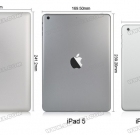 Leaked iPad 5 Back Shell Shows Size Difference