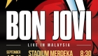 Bon Jovi Live in Kuala Lumpur, Malaysia – Date, Venue, Ticket Info and Pricing